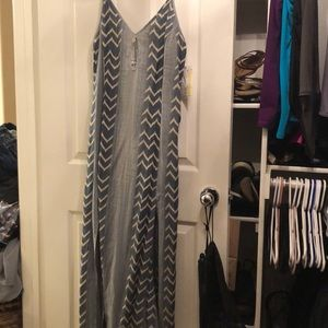 Rip curl maxi with two high slits